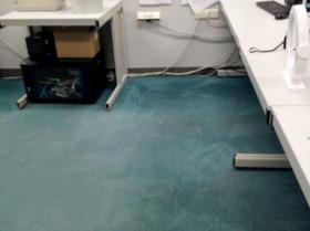 After carpet cleaning Schiphol